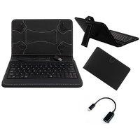 Krishty Enterprises 7inch Keyboard/Case For  HP Slate 7 VoiceTab Ultra - Black With OTG Cable