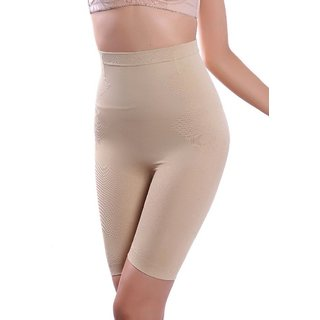 Homfederdeals AB Slim Elastic Beige Shaping Dress Shapewear For Women