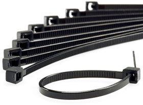 400MM - 16 Inch Nylon Cable Tie - Black colour Strong Grip-100 PCS