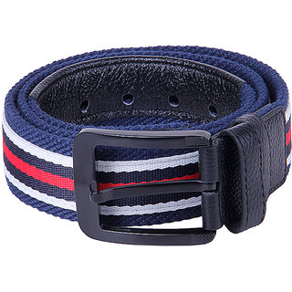 Black Buck Men Casual Multicolor Genuine Leather Belt  (Multicolor)