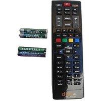Dish Tv Dish Plus Hd Remote Control Remote Controller(Black)