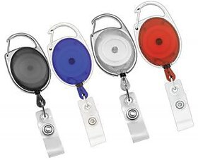 10 pcs Pulley ID Card holders