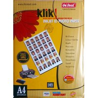 DESMAT A4 SIZE PHOTGLOSSY PAPER FOR INKJET PRINTER  / 180 GSM / 20 SHEET PACKING