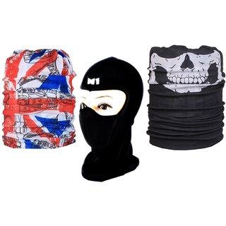 Sushito Black Face Mask  Freebie Classy Bandana JSMFHFM0015-JSMFHMA0845-JSMFHMA0842