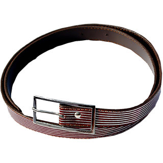 Kshipra Lining Brown Sparkle Ladies Belt