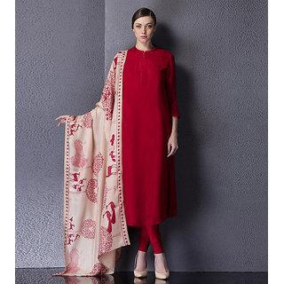 Style Amaze Present Designer Blue and Beige Salwar Suit