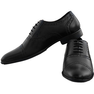 Honos Men's Black Adsila Formal Shoes