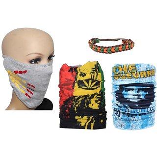 Sushito  Half Face Mask  Wrist Band JSMFHFM0284-JSMFHMA0666-JSMFHMA0620
