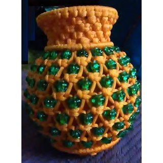 Handmade Macrame Flower Pot For Home Decor
