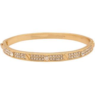 Howdy Alloy Cubic Zirconia Brass Bracelet ss11