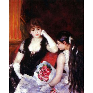 The Museum Outlet - In the Loge by Renoir - Poster Print Online Buy (30 X 40 Inch)