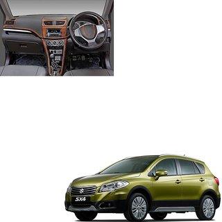 Buy Wooden Dashboard Kit Trim For Maruti Suzuki Sx4 Vxi By Carsaaz