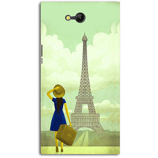 Cell First Silicon Designer Back Cover for LYF Wind 4-Multicolor sncf-SPLYFWind4-622