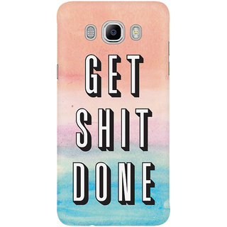 Dreambolic Get Shit Done Mobile Back Cover