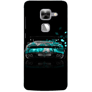 Cell First Designer Back Cover For LeEco Le Max 2-Multi Color sncf-3d-LeEcoLeMax2-331