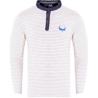 Avenster Striper Men's Polo Neck T-Shirt