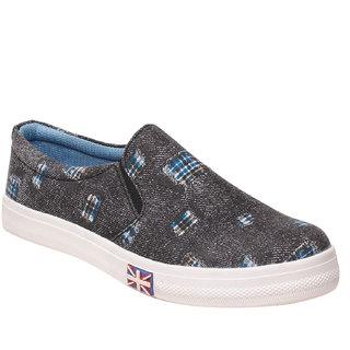 MSC Women's Blue Smart Casuals Shoes