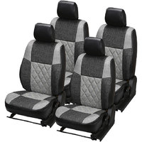 Pegasus Premium Jute Car Seat Cover For KUV 100