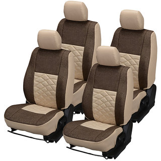 Pegasus Premium Jute Car Seat Cover for i10 Active