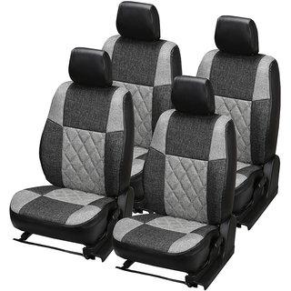 Pegasus Premium Jute Car Seat Cover for Verna Fluidic