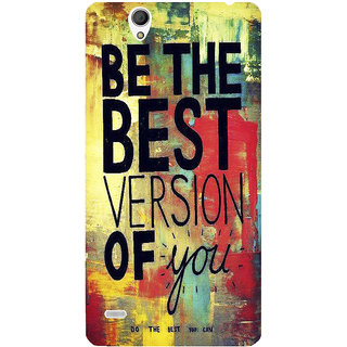 Sony Xperia C4 Printed Back Cover by Print Vale