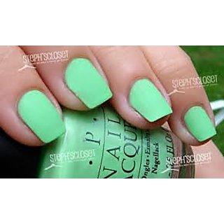 Matte Green Nail Paint