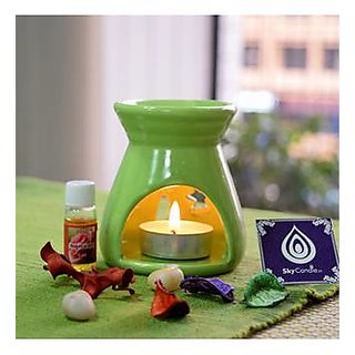 Skycandle Aroma Oil Burner - Assorted