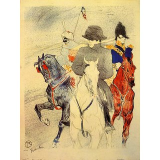 The Museum Outlet - Napoleon 2 by Toulouse-Lautrec - Poster Print Online Buy (30 X 40 Inch)