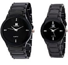 IIK Collection IIK Collections Model Designer Couple RV012 Analog Watch - For Couple, Men, Women, Boys, Girls