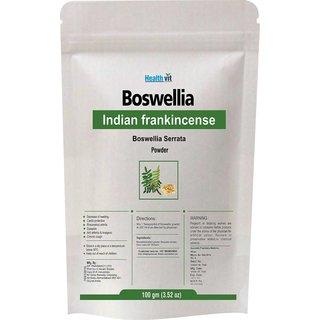 Healthvit Boswellia Indian Francense Boswellia Serrata powder 100Gms