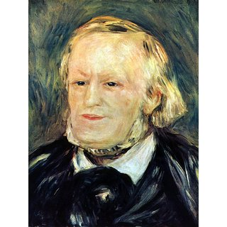 The Museum Outlet - Portrait of Richard Wagner by Renoir - Poster Print Online Buy (30 X 40 Inch)