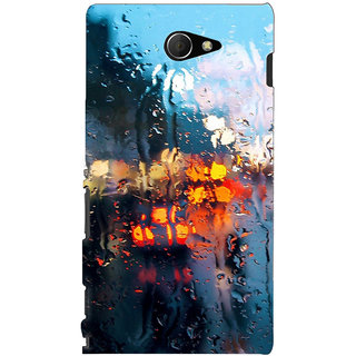 Sony Xperia M2 Aqua Printed Back Cover by Print Vale