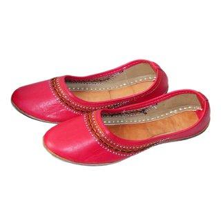 Women's Pink Jutti