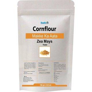 Healthvit Cornflour Makke Ka Aata Zea Mays Powder 100gms