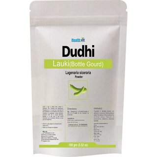 Healthvit Dudhi Lauki Bottle Gourd Lagenaria Siceraria Powder 100gms