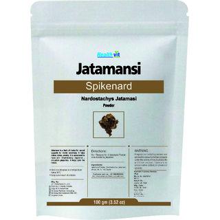 Healthvit JatamansiSpikenard Nardostachys Jatamasi Powder 100gms