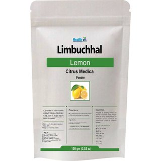 Limbuchhal /Lemon (Citrus Medica) Powder 100gms