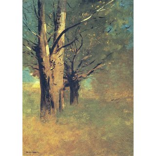 The Museum Outlet - Trees in the Area of Peyrelebade - Poster Print Online Buy (30 X 40 Inch)
