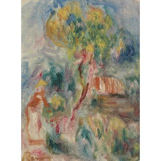 The Museum Outlet - Study of Landscape - Poster Print Online Buy (30 X 40 Inch)