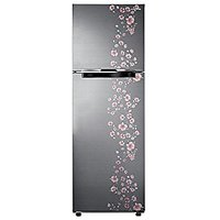 Samsung RT27JARMALX/TL Frost-free Double-door Refrigerator (253 Ltrs, 3 Star Rating, Orcherry Peach Silver)