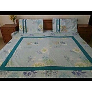 Double bedsheet, cotton bedsheet, bedsheet, designer bedsheet