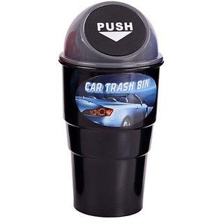 Grey Car Home Office Trash / Garbage / Dust Bin / Car Accessory