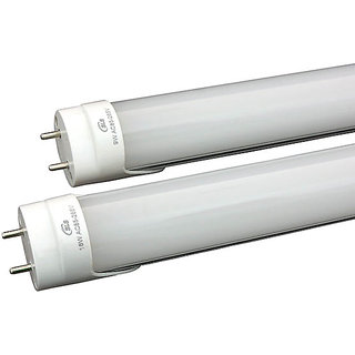 System Level Solutions 18W Silver Aluminum+PC LED Tube Light