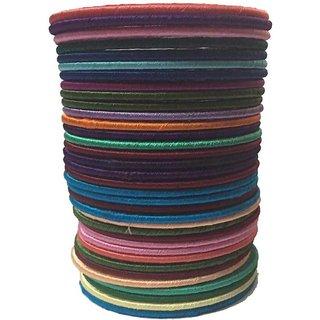 Kuhuk Plastic Bangle Set  (Pack of 35)