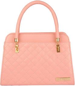 Lino Perros White Hand Bag LWHB01843PINK