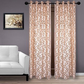 Velvet Embossed Curtain High Quality (Door)