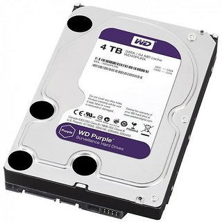 CCTV SURVEILLANCE AV HDD 4TB WD PURPLE