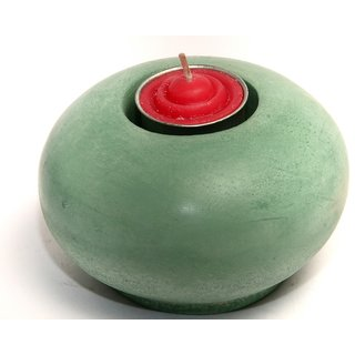 Candle Holder Made of Concrete (caribbean , Diwali Gift)