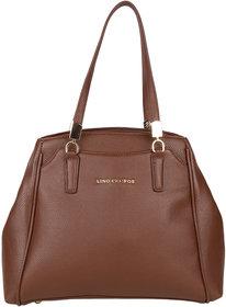 Lino Perros White Hand Bag LWHB01826BROWN