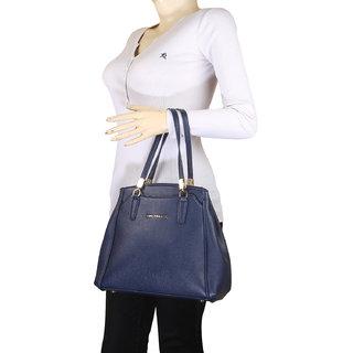Lino Perros Black Hand Bag LWHB01826BLUE